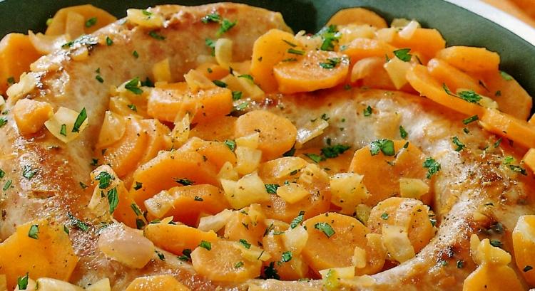 Top Braadworst met worteltjes || SEKK Recepten @FH27
